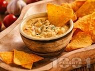 Рецепта Пикантен мексикански сос с кашкавал и мляко